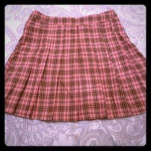 BooHoo Pleated Schoolgirl Skirt
